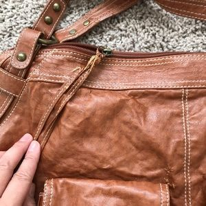 Barneys New York Bags - Barney's brown shoulder bag